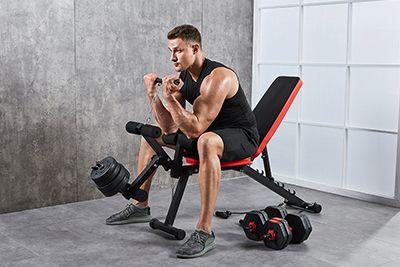 健身器材摄影