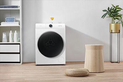 洗衣机现代简约风格拍摄