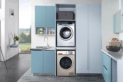 洗衣房实拍加合成